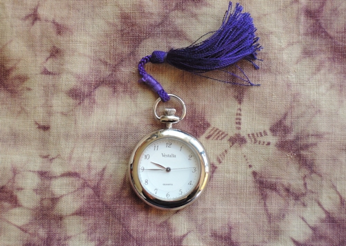懐中時計に七ツ葉のクローバー_e0200879_14133088.jpg