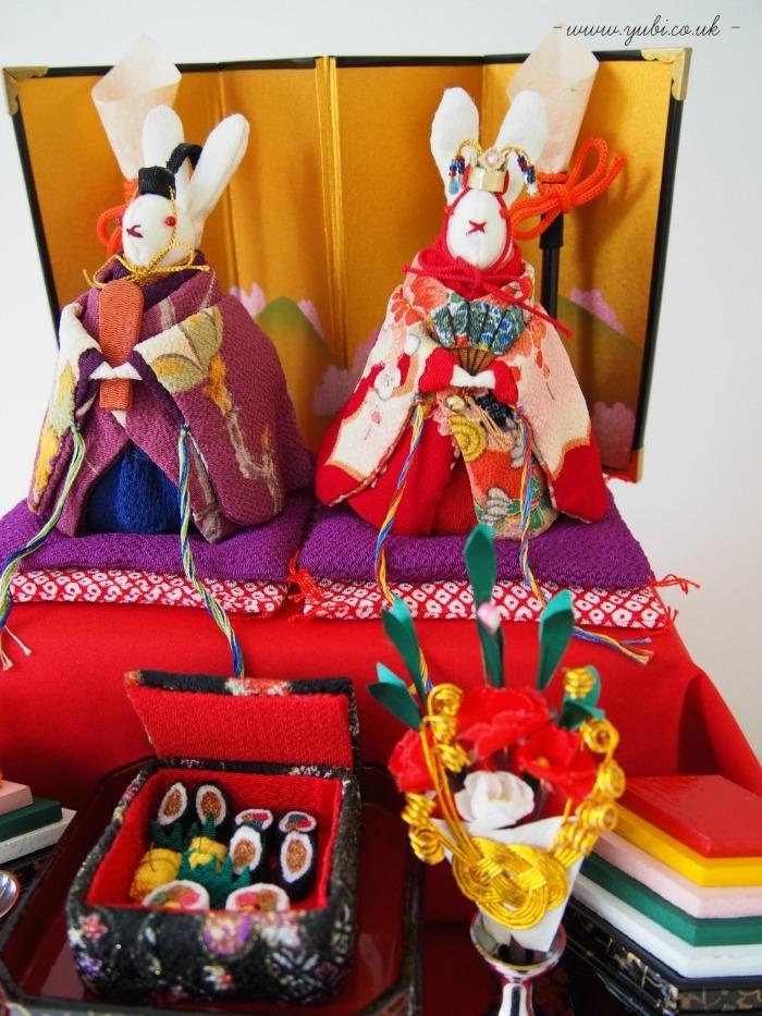 手作り雛人形と和のテーブルランナー♪_b0313387_18225831.jpg