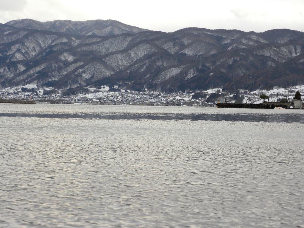 諏訪湖夕景_b0329588_17015305.jpg