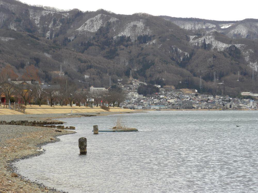 諏訪湖夕景_b0329588_17015917.jpg