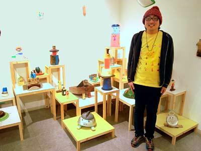ワタノハスマイル展@名古屋、明日までです。_e0045113_19261011.jpg