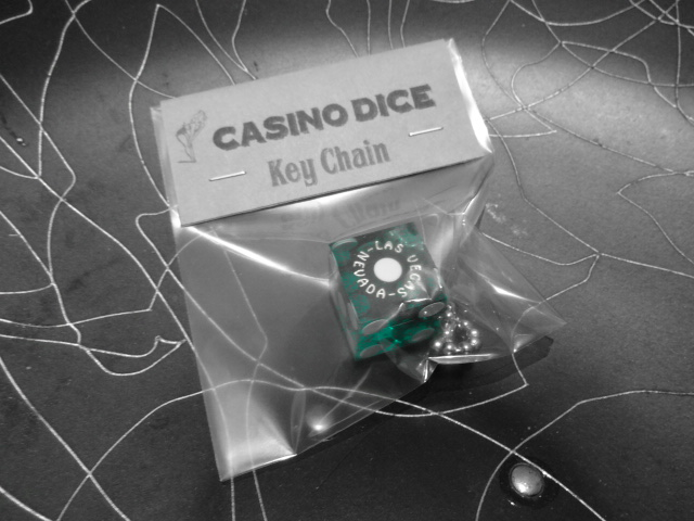 CASINO DICE Key Chain_c0289919_17205749.jpg