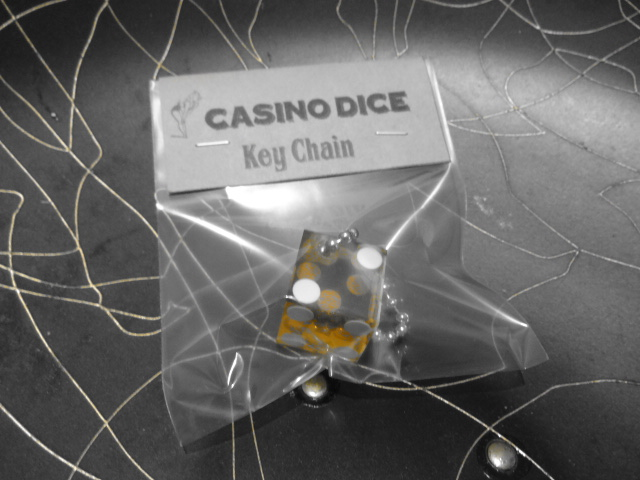 CASINO DICE Key Chain_c0289919_172133.jpg