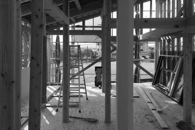 N-House 建て方も終わり・・・_f0165030_931775.jpg