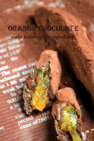 オレンジピール チョコレート_e0260071_08462.jpg