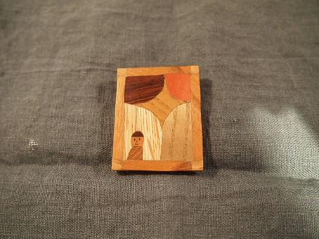 宮内知子さんの合わせ木細工ブローチ_b0322280_21205730.jpg