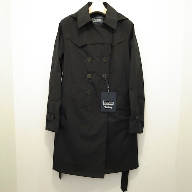HERNO LAMINAR TRENCH COAT:SORRY,SOLD OUT!_f0111683_15273877.jpg