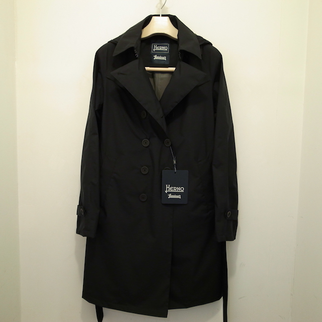 HERNO LAMINAR TRENCH COAT:SORRY,SOLD OUT!_f0111683_16333465.jpg