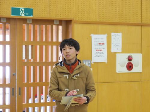 2015年度 吾妻祭実行委員長 伊藤 秀一君が来訪_c0075701_13131127.jpg