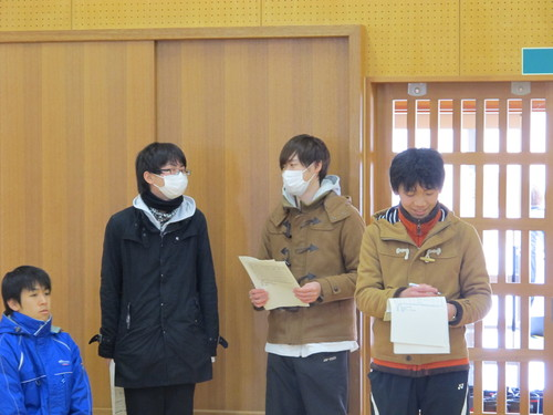 2015年度 吾妻祭実行委員長 伊藤 秀一君が来訪_c0075701_1313560.jpg