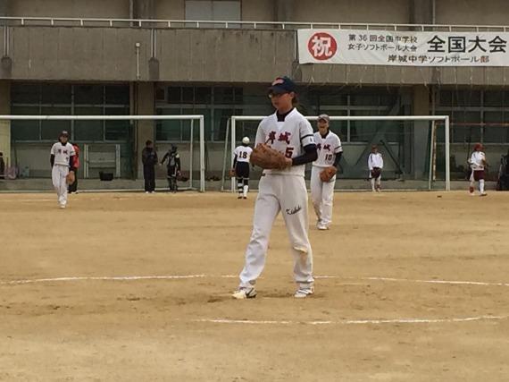 岸城中学練習試合と岡山選抜_b0249247_22435826.jpg
