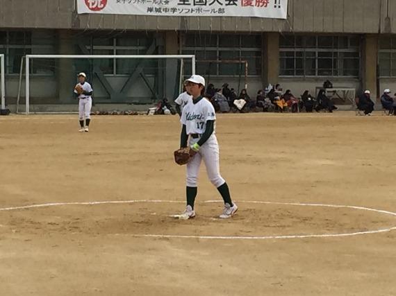 岸城中学練習試合と岡山選抜_b0249247_22444634.jpg