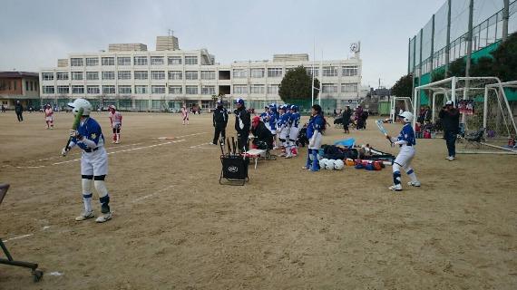 岸城中学練習試合と岡山選抜_b0249247_22472430.jpg