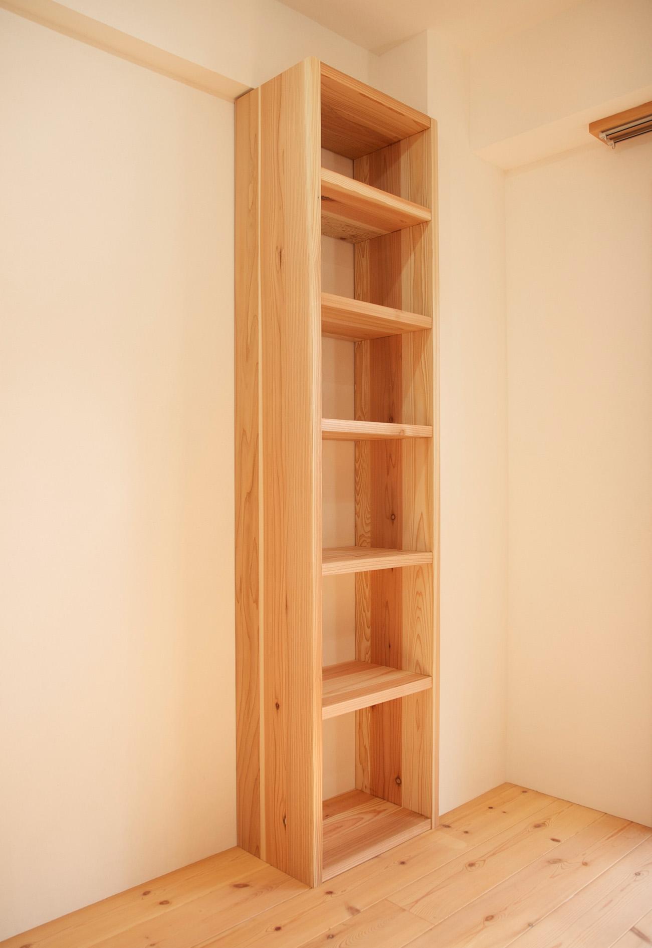 本棚 DIY マンションリフォーム_e0127948_2103391.jpg
