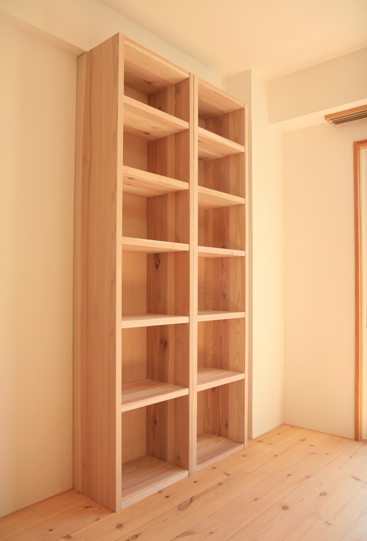 本棚 DIY マンションリフォーム_e0127948_2112477.jpg