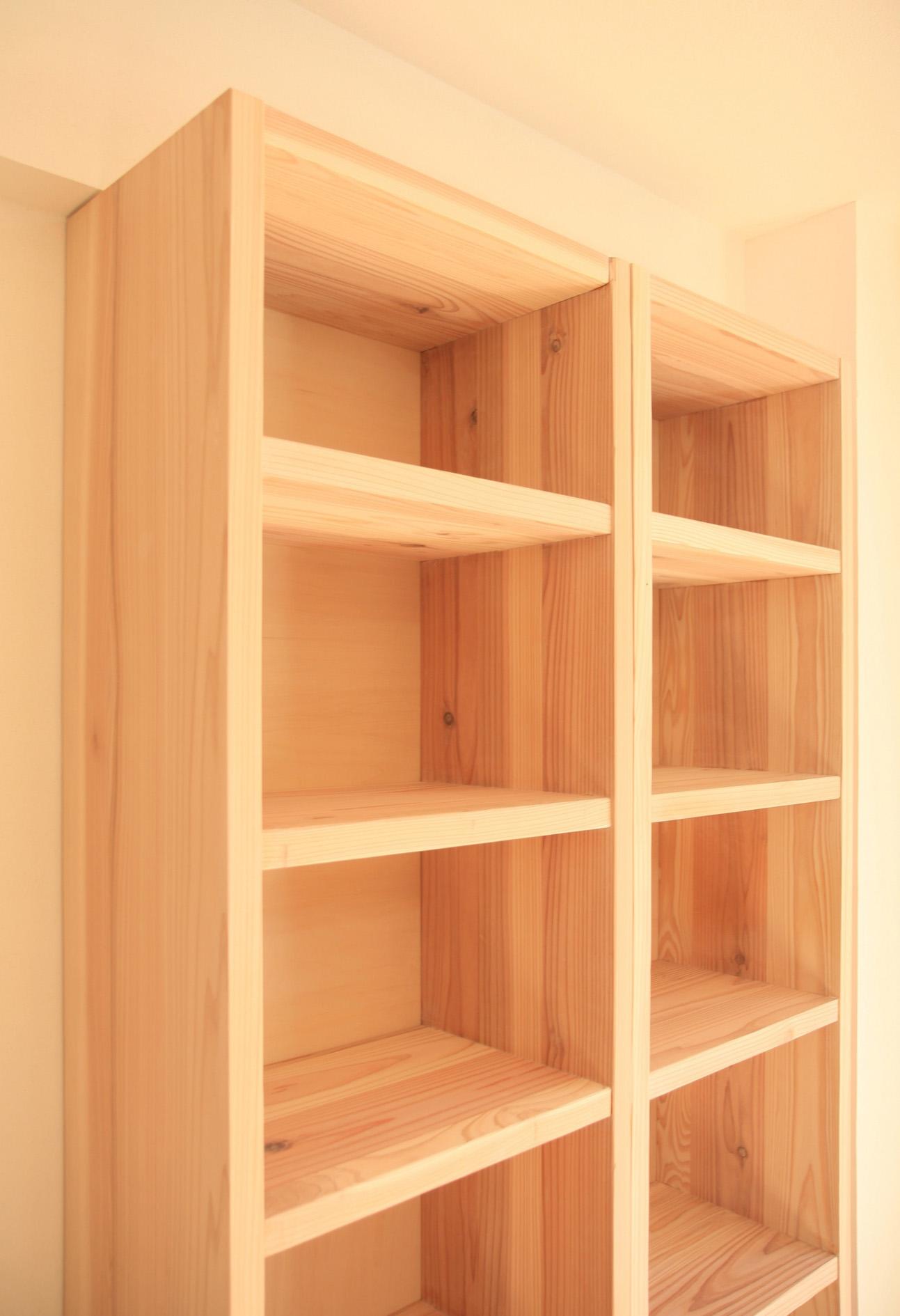 本棚 DIY マンションリフォーム_e0127948_21149100.jpg