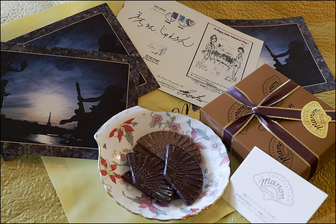 A Happy St. Valentine\'s day! セントヴァレンタインデーのカードは手創りで_a0031363_20523580.jpg