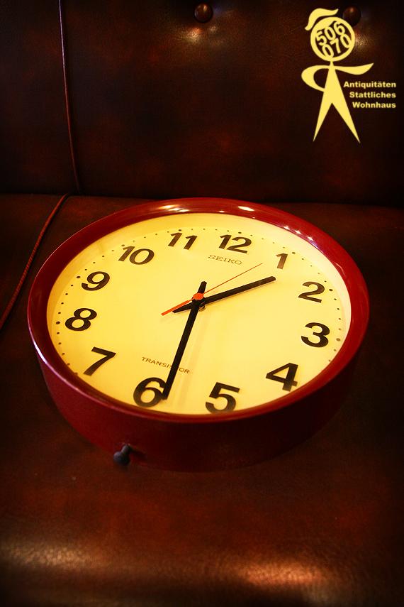 1970s Vintage 電池で動く壁掛時計_e0243096_14492863.jpg