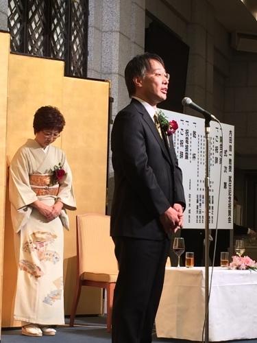 内田君教授就任祝賀会にて_d0028322_00273267.jpg