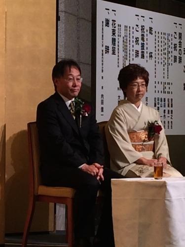 内田君教授就任祝賀会にて_d0028322_00302924.jpg