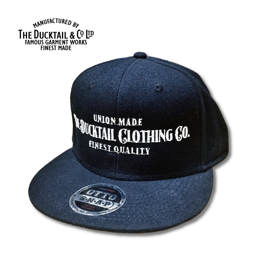"DUCKTAIL CLOTHING ""SIGN\"" SNAPBACK CAP_c0187573_2072591.jpg"