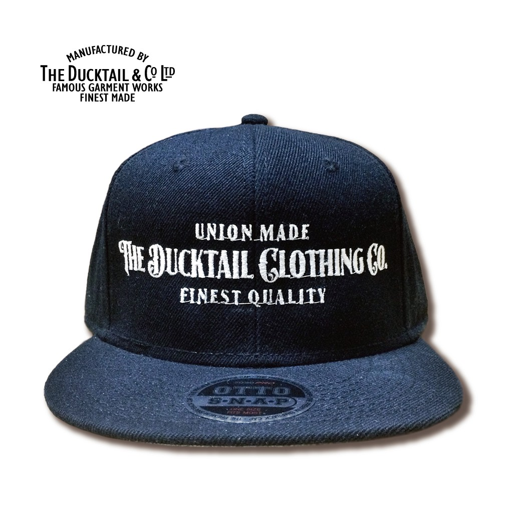 "DUCKTAIL CLOTHING ""SIGN\"" SNAPBACK CAP_c0187573_2073039.jpg"