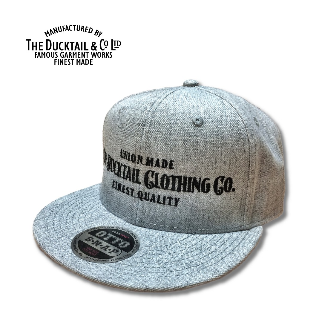 "DUCKTAIL CLOTHING ""SIGN\"" SNAPBACK CAP_c0187573_207462.jpg"