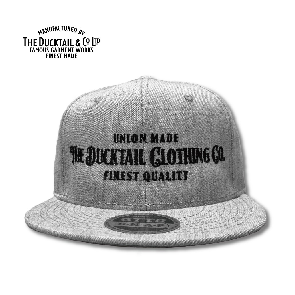 "DUCKTAIL CLOTHING ""SIGN\"" SNAPBACK CAP_c0187573_207516.jpg"