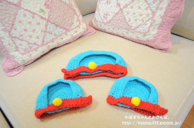 ドラちゃん帽子_a0126590_22375367.jpg