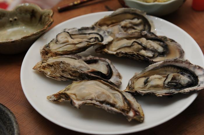 牡蠣&ワインパーティー♪_a0049296_201282.jpg