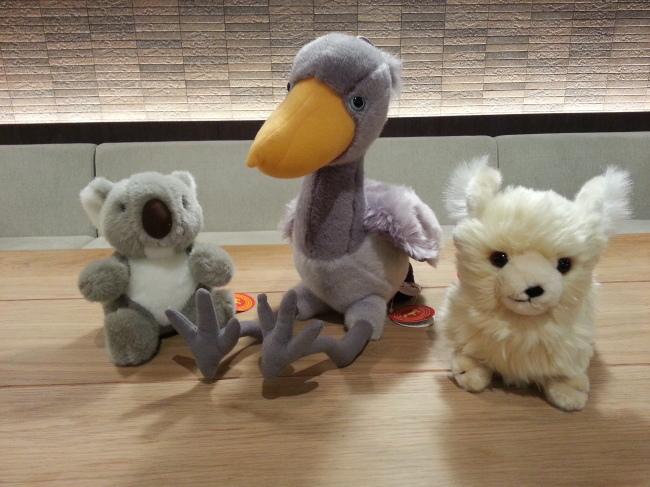 「動物園・水族園体験記」キャンペーンプレゼントのぬいぐるみ!_f0357923_17282800.jpg