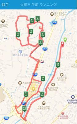 午前ランニング(坂道練習) ㉑_b0203925_15103893.jpg