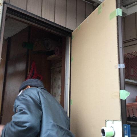 ドア交換とレディス部隊_f0031037_1834351.jpg