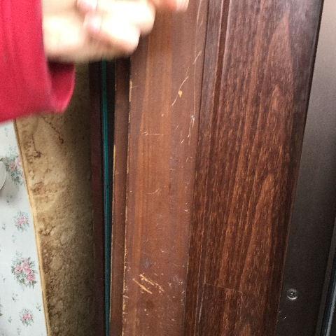 ドア交換とレディス部隊_f0031037_1844419.jpg