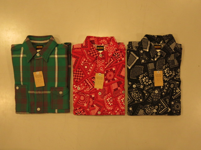 """BIG YANK SHIRT TYPE I / TYPE II\""ってこんなこと。_c0140560_12593650.jpg"
