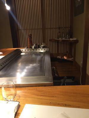 リクエストにお応えして鉄板焼きに@桜新町_c0267598_103424.jpg