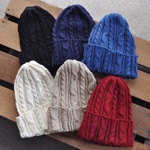 cotton knit cap / HIGHLAND2000_d0193211_17385752.jpg