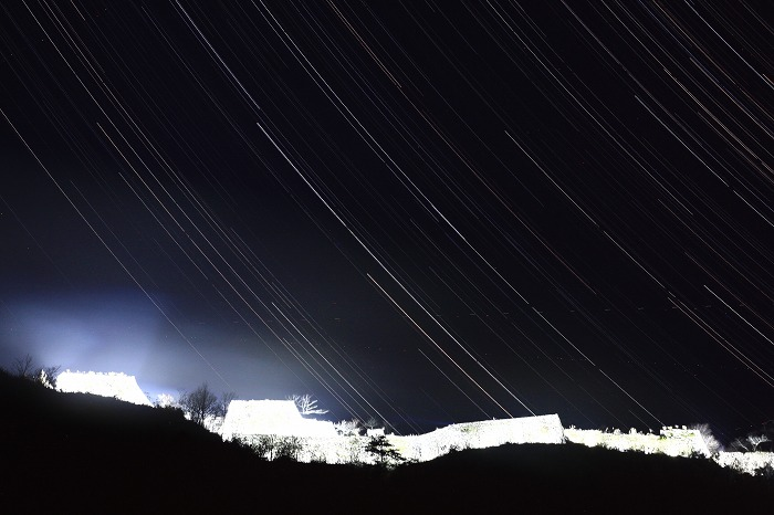 竹田城跡 ライトアップ 再び_a0294534_943126.jpg