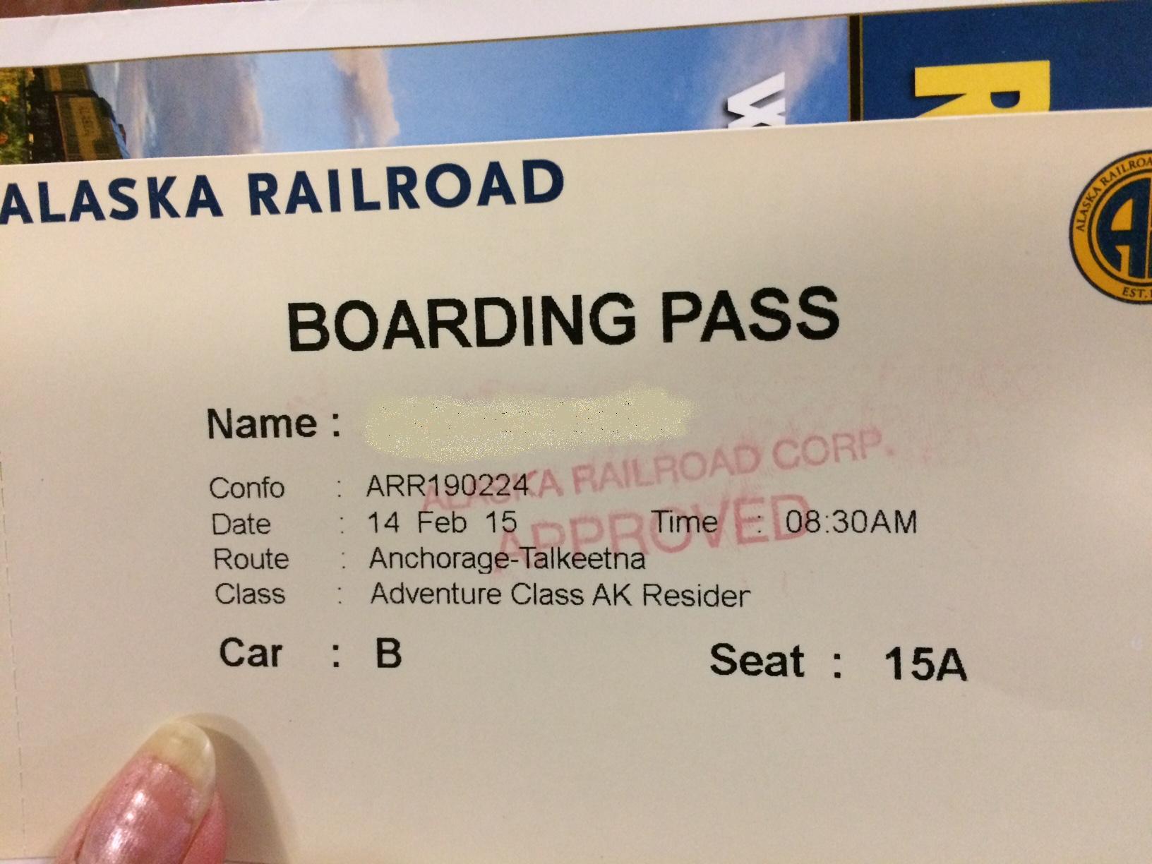 アラスカ鉄道の旅。 アンカレッジからタルキートナへ その1_b0135948_8361083.jpg