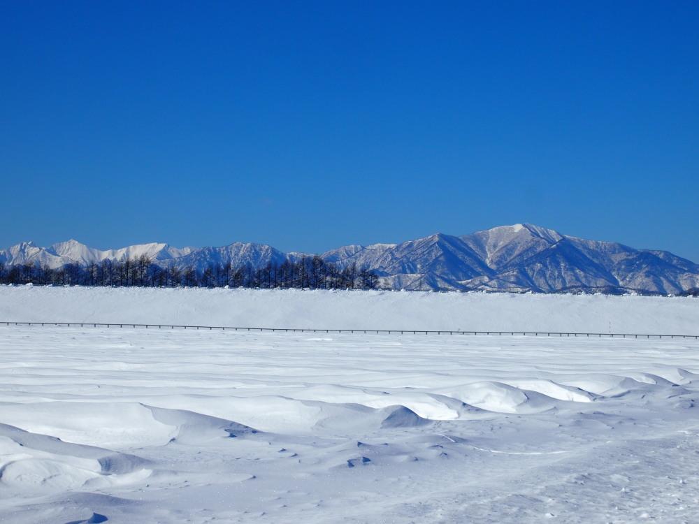 """あまりに""""日高山脈がきれいに見える""""ので寄り道してしまいました。_f0276498_12060883.jpg"""