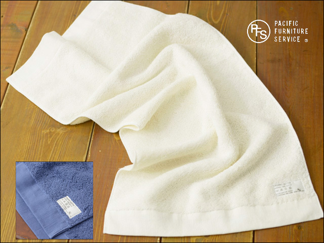 PACIFIC FURNITURE SERVICE[パシフィックファニチャーサービス] ORGANIC COTTON TOWEL face towel _f0051306_18591354.jpg