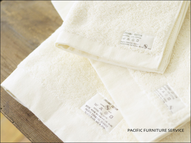 PACIFIC FURNITURE SERVICE[パシフィックファニチャーサービス] ORGANIC COTTON TOWEL face towel _f0051306_18591899.jpg