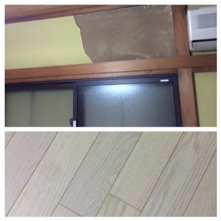 寝室の京壁が崩れました。_f0243509_10545534.jpg