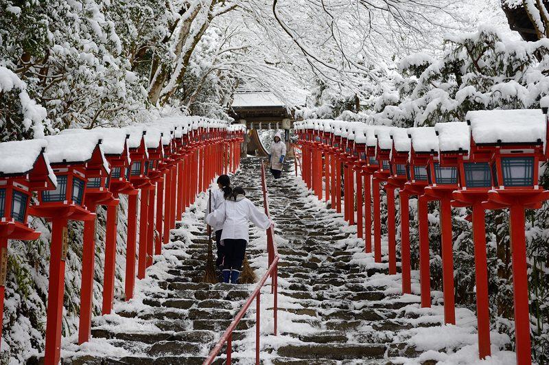 2015京の雪景色@貴船 其の三_f0032011_19545670.jpg