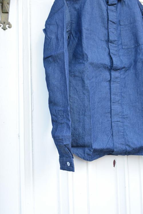 インディゴのシャツ_a0113127_1554123.jpg