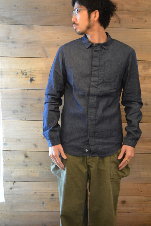 インディゴのシャツ_a0113127_1555590.jpg