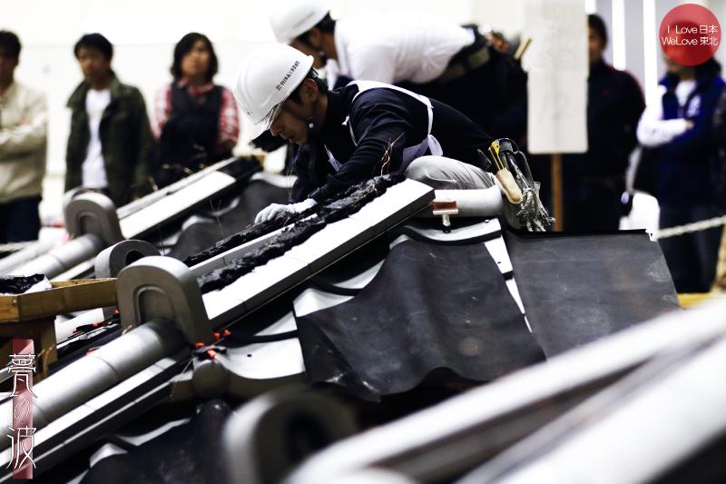 第28回 2015 技能グランプリ 「かわらぶき(瓦葺)」 富山県代表出場_b0157849_20045448.jpg