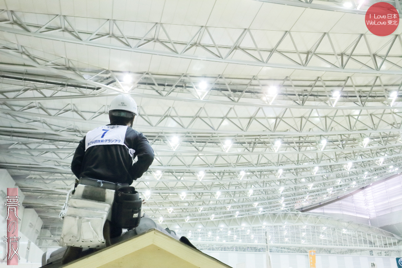 第28回 2015 技能グランプリ 「かわらぶき(瓦葺)」 富山県代表出場_b0157849_20054700.jpg
