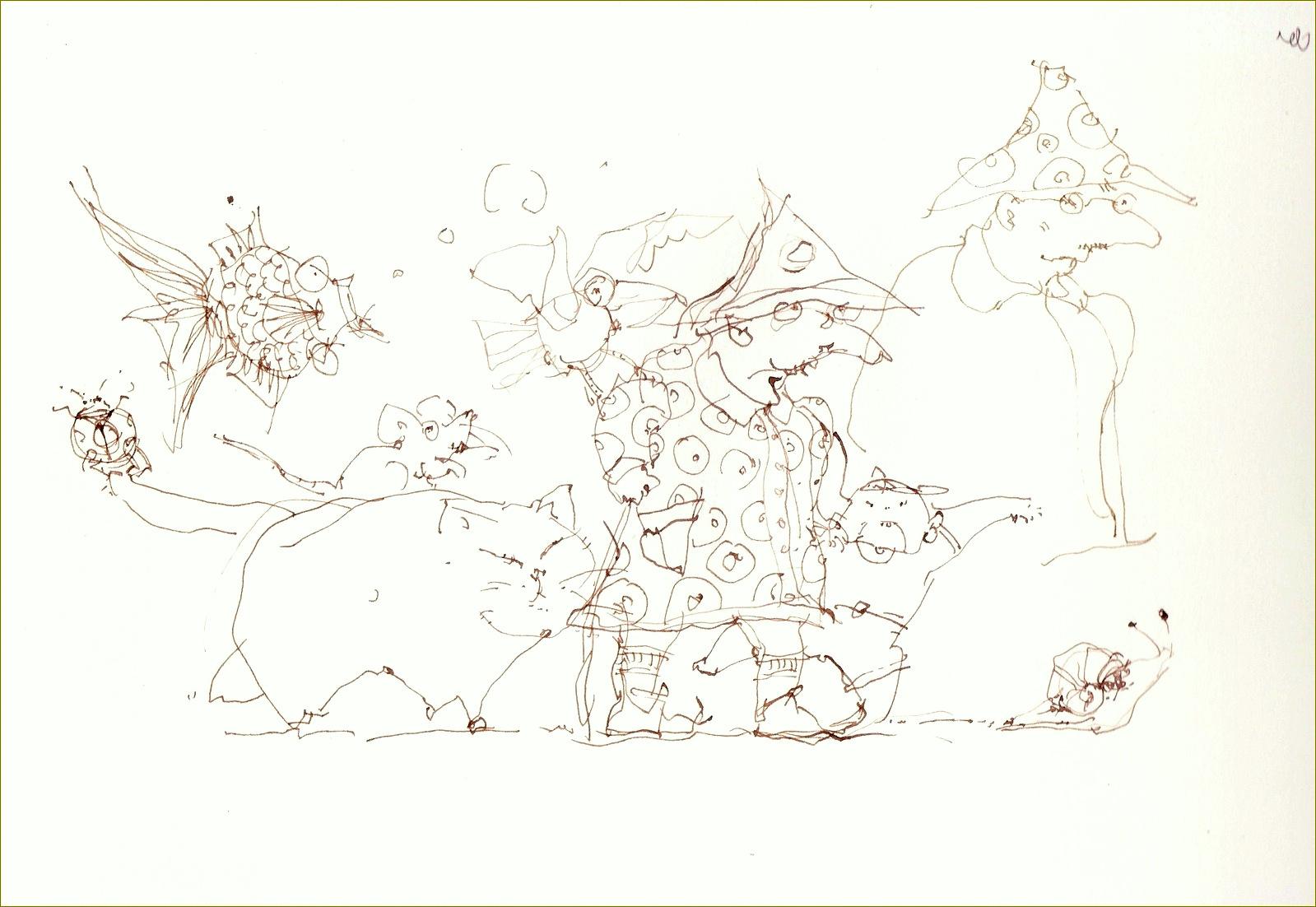 《 ソコラノカミにイタズラガキ Ⅳ ・・・ ルンペンジジイ春うらら 》》 _f0159856_901933.jpg