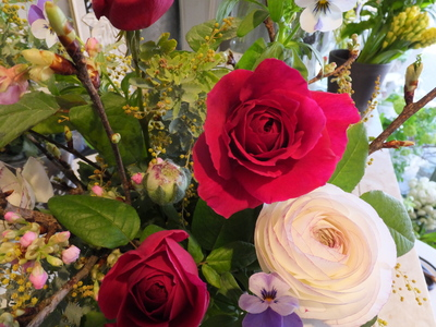 オークリーフ花の教室(富田さんの作品)_f0049672_1834566.jpg